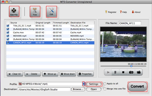 how to change mkv file