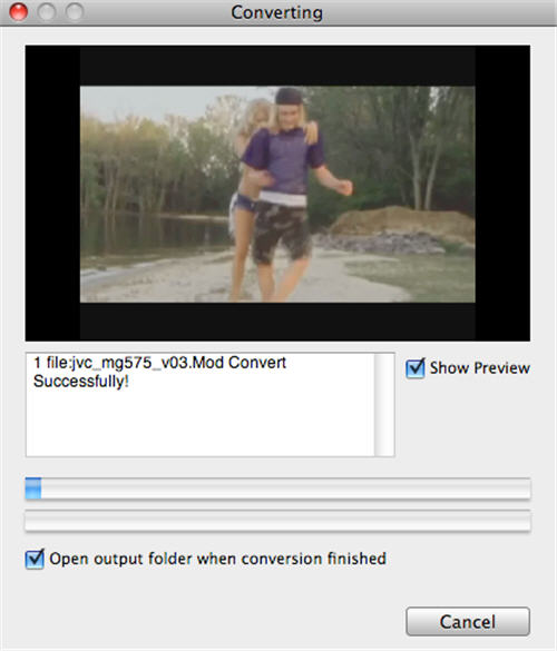 Mac MTS to WMV Converter